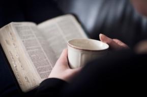 drinking-tea-reading-bible