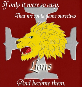 Name ourselves Lions smaller
